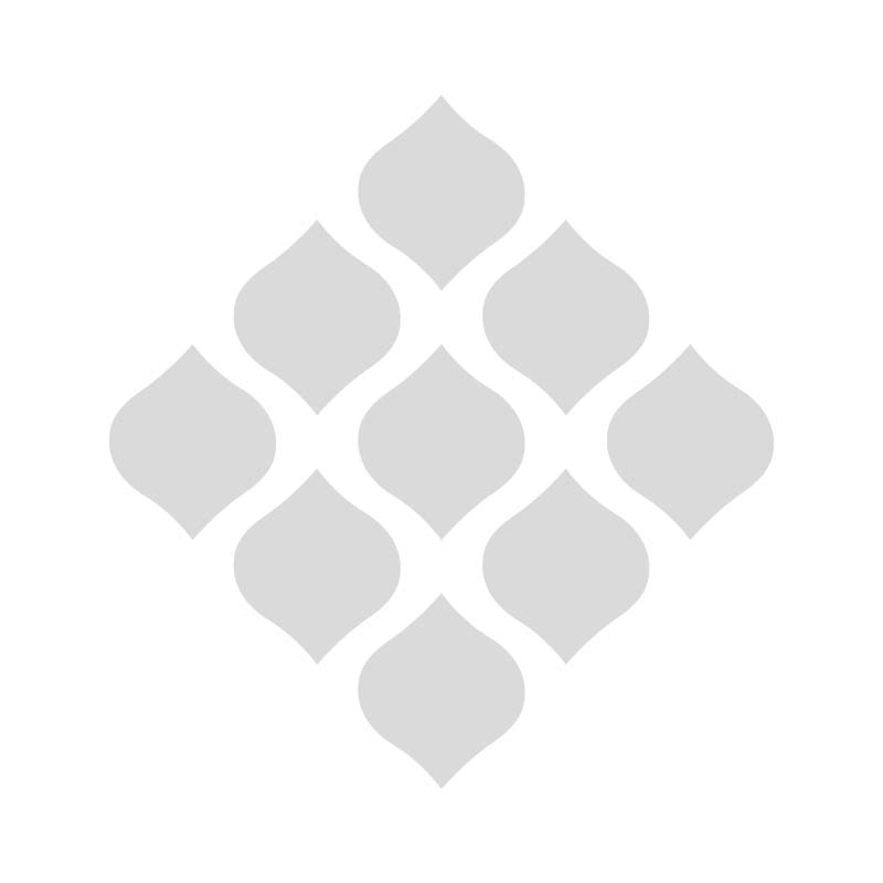Applicatie Letter D blauw-creme