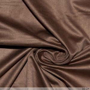 Stretch Kunstvelours Mocca