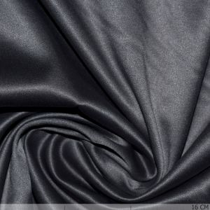 Satin mit Stretch Taupe