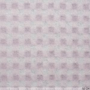 Wool Little Square Pink