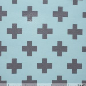 Nobo Cross Grey on Mint