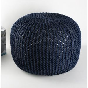 Phildar KIT DIY POUF BLEU MARINE